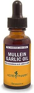 Herb Pharm Mullein Garlic Herbal Oil - 1 Ounce