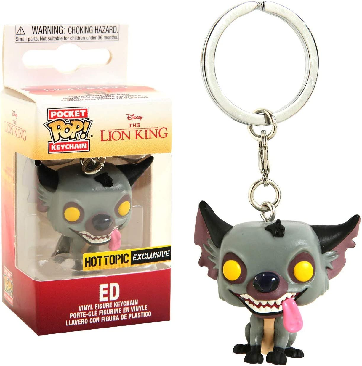 Amazon.com: POP! Funko ED The Hyena - Llavero de bolsillo ...