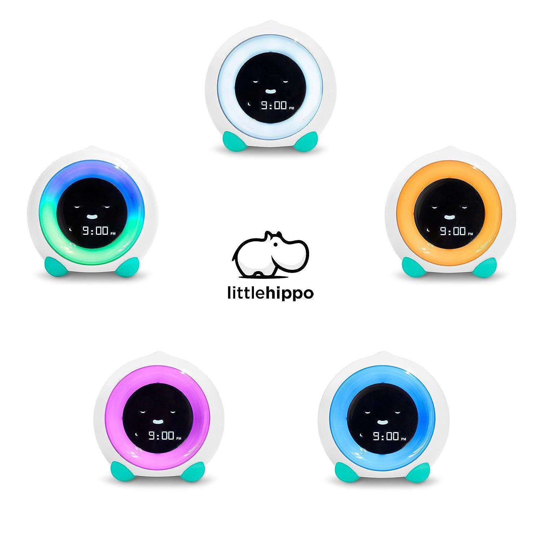 Arctic Blue Night Light Sleep Sounds Machine Alarm Clock LittleHippo Mella Ready to Rise Childrens Trainer