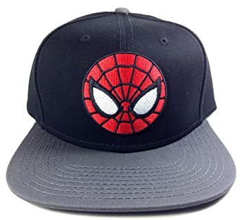 Marvel The Ultimate Spider-Man Snapback Gorra De Béisbol: Amazon ...
