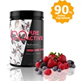 Premium Pre Workout Supplement 480g - Pre Exercising Energy Booster for Men and Women - Premium Quality, Vegan Friendly, Strong Formula, 11 Key Ingredients, Natural Fruit Flavour