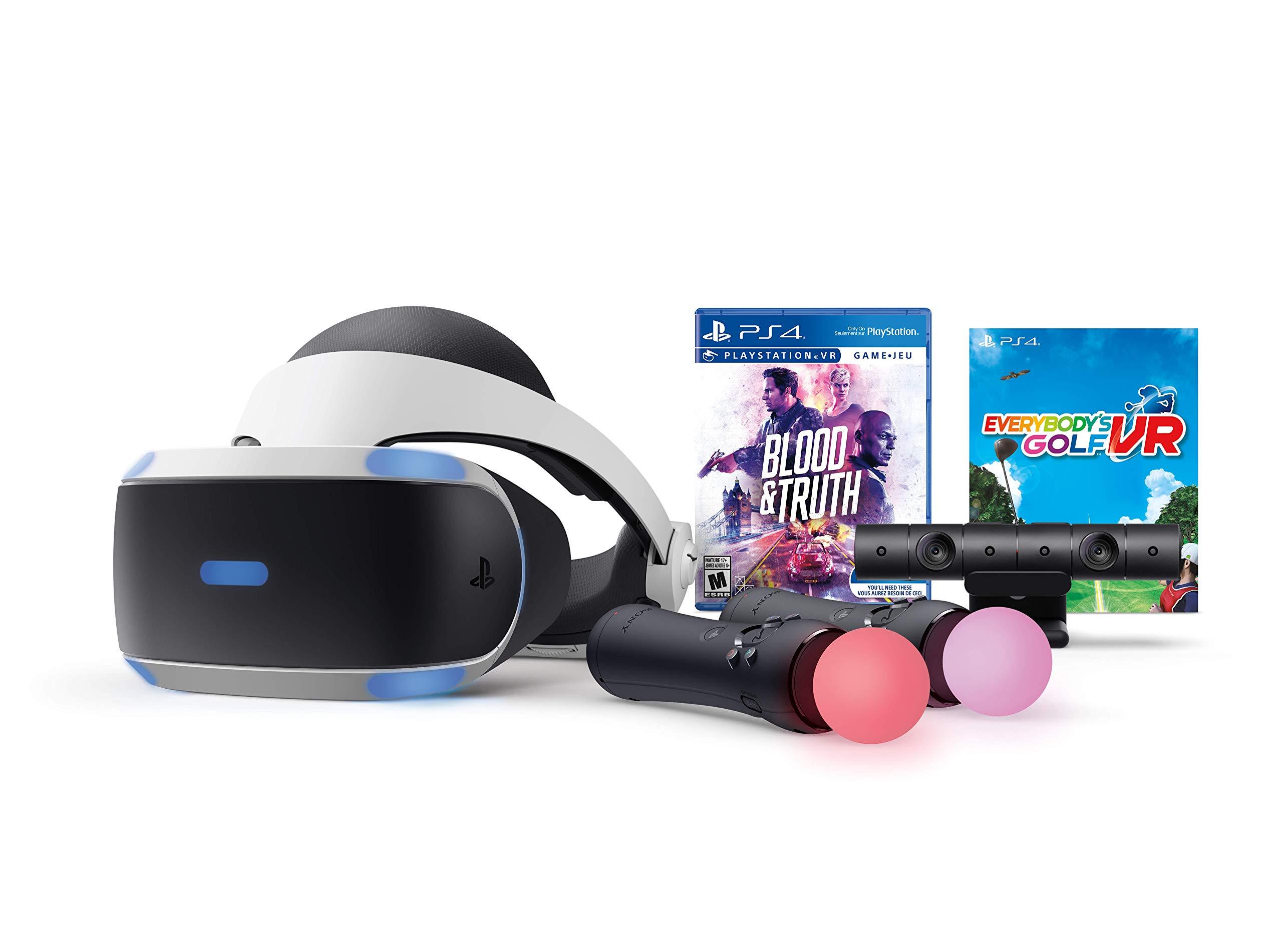 PlayStation VR - Mega Blood + Truth Everybodys Golf Bundle