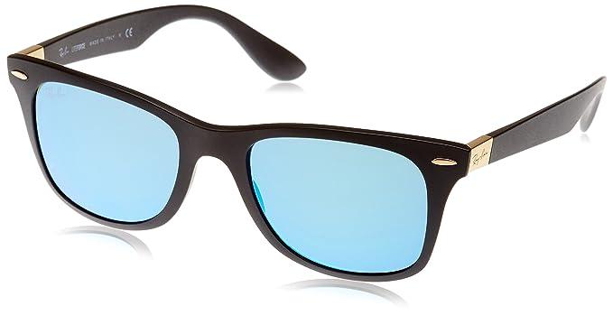 Ray-Ban RAYBAN 4195, Gafas de Sol para Hombre, Matte Black, 52