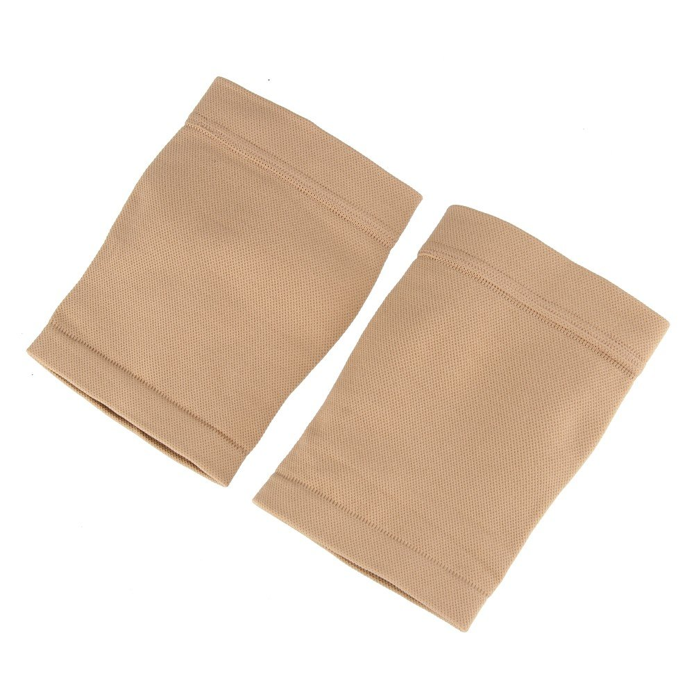 Beauty7 Tan Tattoo Cover Up Sleeve Forearm Band Concealer UV Protection (2PCS, 8.3''~9.4'' Top)