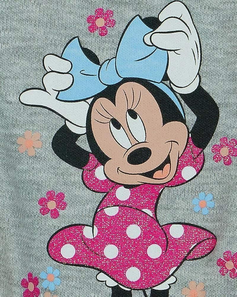 Baby Hose Disney Minnie Maus Langarm Spielhose mit Fu/ß 56 62 68 74 M/ädchen