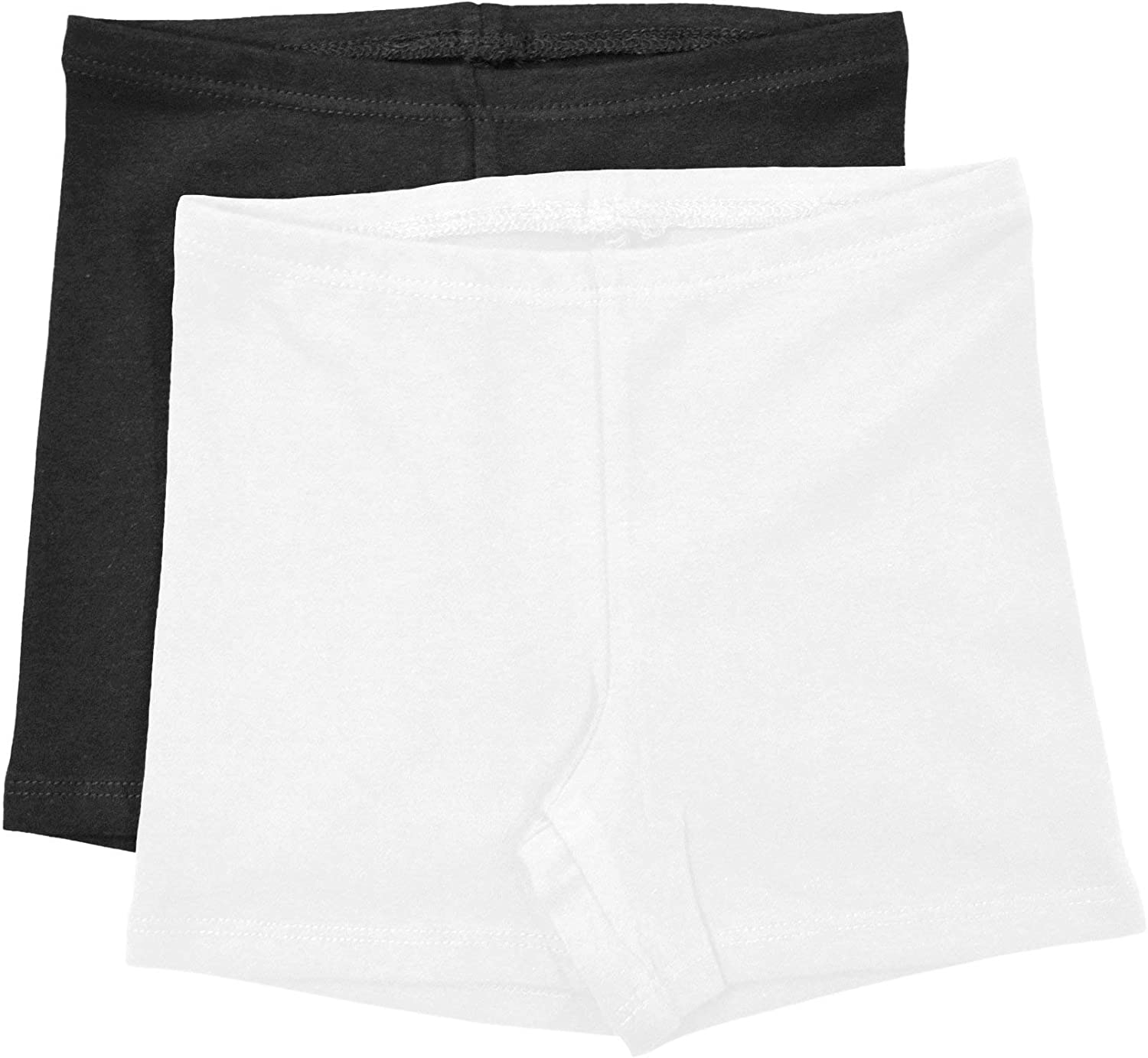 Stretch is Comfort Infant Cotton Biker Shorts Pack of 2