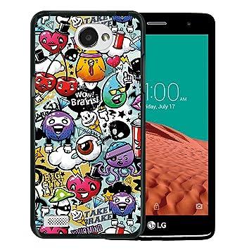 WoowCase Funda para LG X150 Bello 2, [LG X150 Bello 2 ] Silicona ...