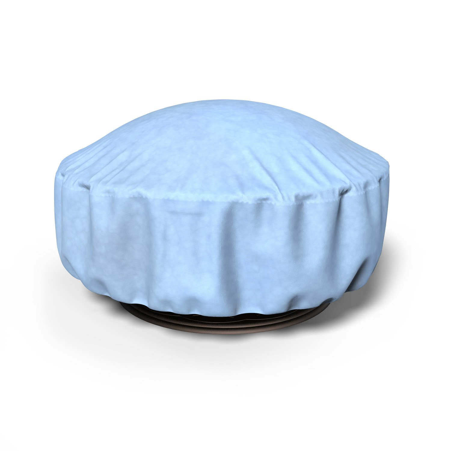 Budge All-Seasons Fire Pit Cover P9A15BG1, Blue (36 Diameter, 15 Drop) by Budge