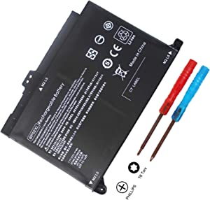 New BP02XL 849909-850 Battery Compatible with HP Pavilion PC 15 15-AU000 15-AU010WM 15-AU018WM 15-AU020WM 15-AU062NR 15-AU123CL 15z-AW000 AW068NR AW053NR AW002LA 849569-421 849569-542 TPN-Q172