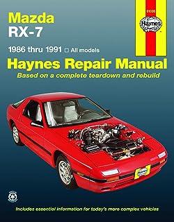 Mazda RX-7, GS, GSL & GSL-SE (79-85) Haynes Repair Manual ... on grand wagoneer wiring diagram, g37 wiring diagram, galant wiring diagram, interior wiring diagram, evo wiring diagram, motorcycle wiring diagram, lesabre wiring diagram, trans am wiring diagram, mx6 wiring diagram, nissan wiring diagram, legacy wiring diagram, challenger wiring diagram, honda wiring diagram, wrx wiring diagram, toyota wiring diagram, mazda5 wiring diagram, engine wiring diagram, celica wiring diagram, rx8 wiring diagram, xjs wiring diagram,