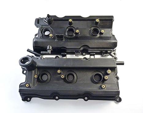 Cubiertas de válvula de motor delantera izquierda derecha para bujías y juntas 13264-AM610 13264