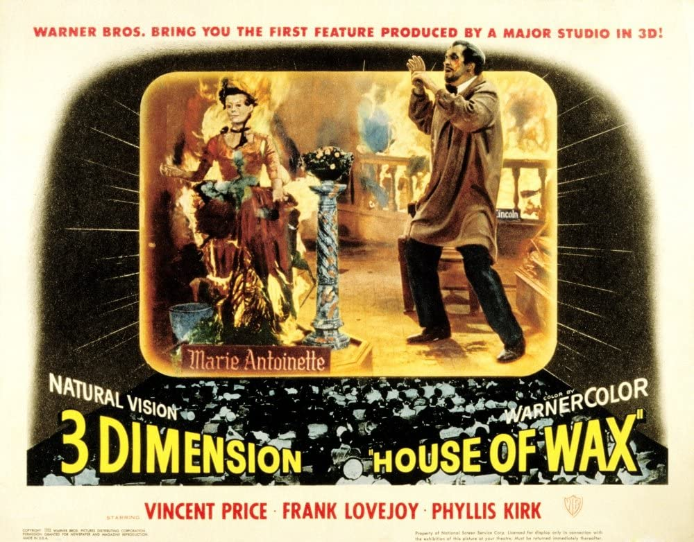 Amazon Com Posterazzi House Of Wax Vincent Price 1953 Movie Masterprint Poster Print 14 X 11 Posters Prints