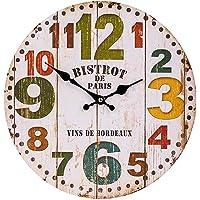kaMAGPIE Relojes de Pared de decoración, Reloj