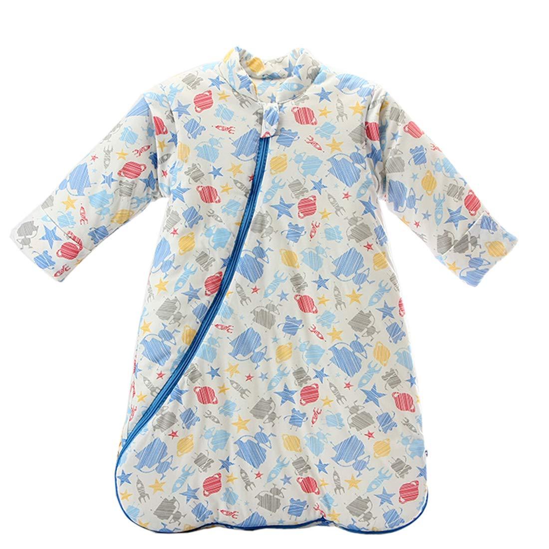 Fairy Baby Newborn Unisex Winter Thick Sleepsack Cartoon Bunting Bag Wearable Blanket size 0-12M Animal World Thickening