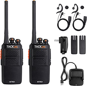 Tacklife MTR01 Advanced Two-Way Radio