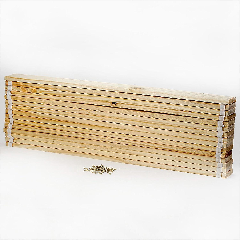 IDIMEX Rollrost Lattenrost mit 15 Latten aus Kiefer,2 cm breit in 90 x 200 cm