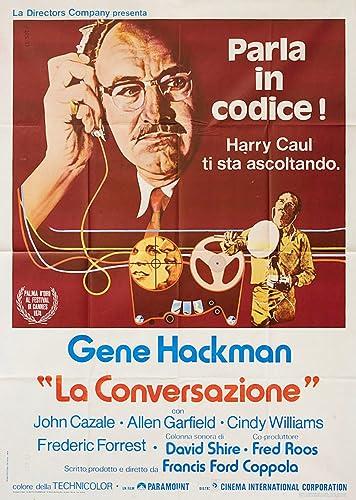 Amazon.com: The Conversation 1974 Italian Due Fogli Poster ...