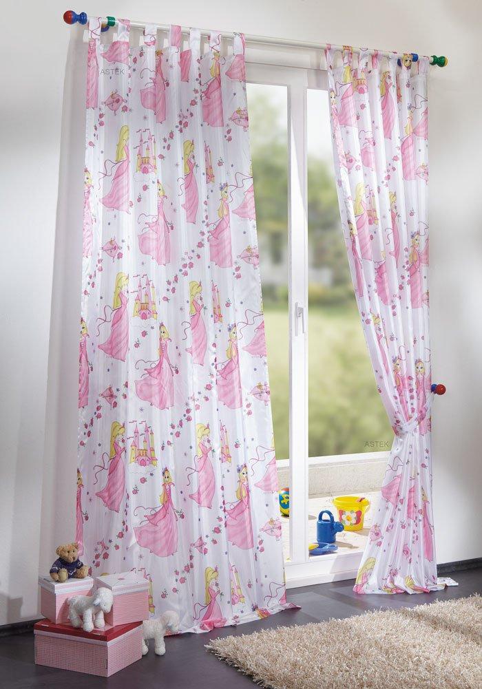 gardinen deko gardinen f r kinderzimmer m dchen bilder. Black Bedroom Furniture Sets. Home Design Ideas