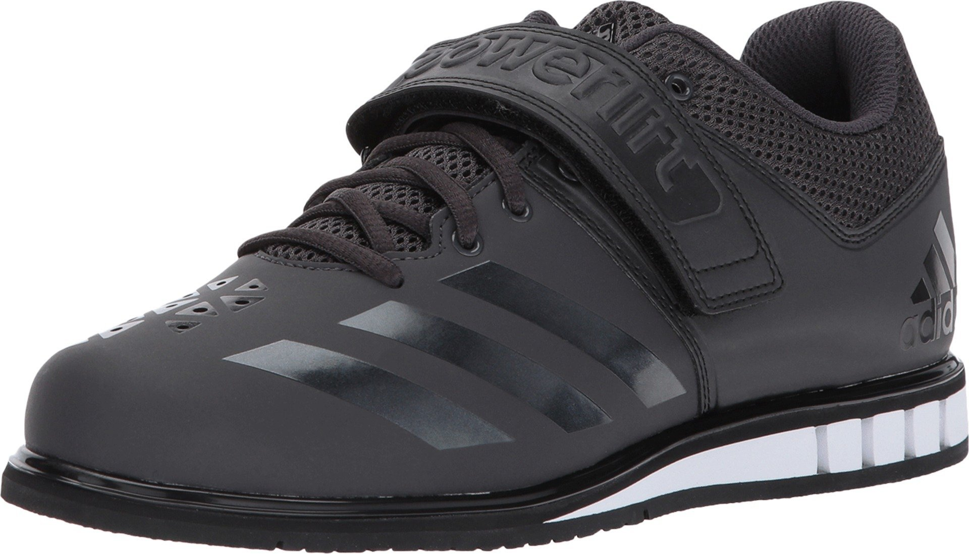 adidas Performance  Men's Powerlift.3.1 Cross-Trainer Shoes, Utility Black/Black/White, (10.5 M US) by adidas