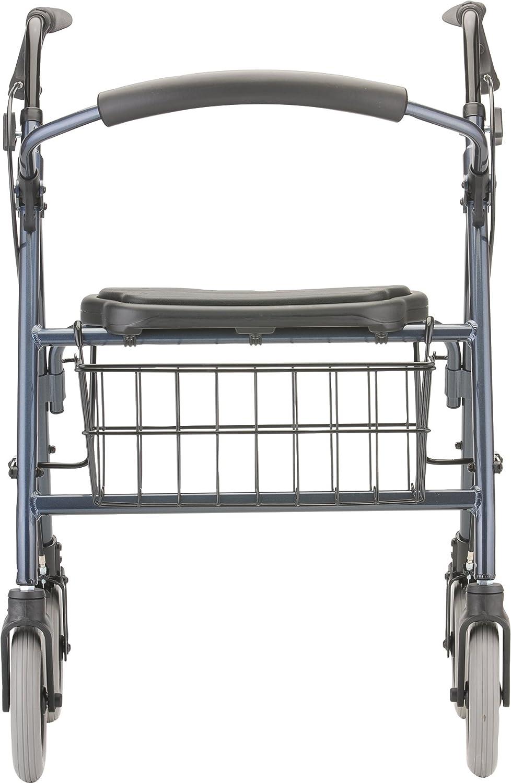 NOVA Cruiser Deluxe Rollator Walker, Blue: Health & Personal Care