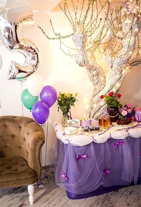 OFILA - Fondo de 5 cumpleaños para niñas, diseño de ...