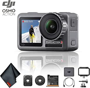 DJI Osmo Action 4K Camera with Cleaning Cloth