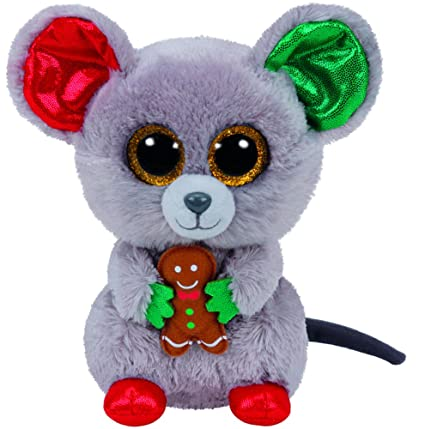 e8ceee243c8 TY Beanie Boo Plush - Mac the Mouse 15cm (Christmas Exclusive)  Amazon.ca   Toys   Games