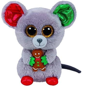 Carletto Ty 37196 - mac - ratón de la navidad con los ojos de brillo de