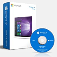 Windows 10 Home 64 Bit DVD OEM - Windows 10 Home 64 Bit OEM - Windows 10 Home License - English, 1 PC