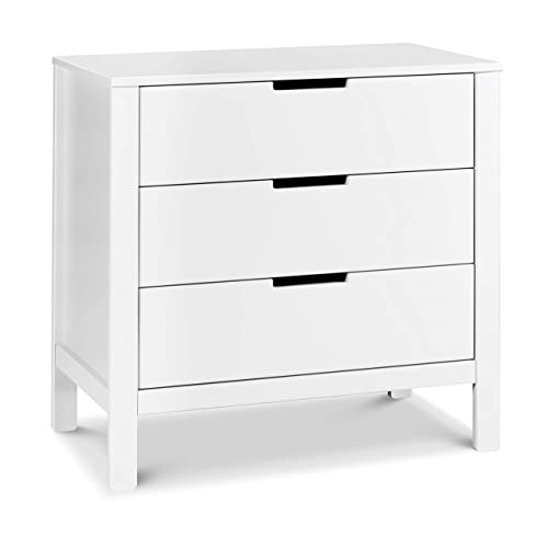 Carter s by DaVinci Colby 3-Drawer Dresser in White