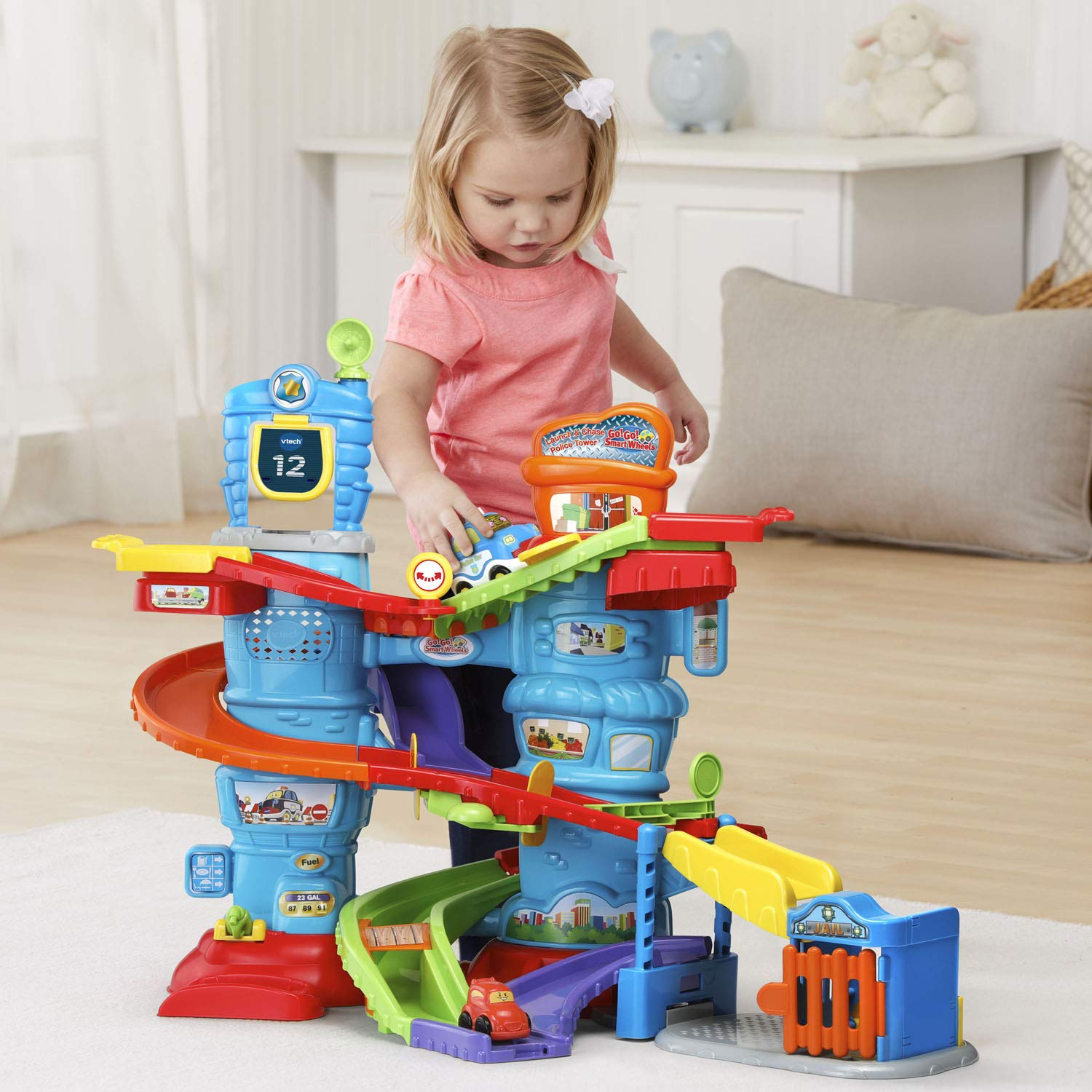 VTech Go! Go! Smart Wheels Launch and Chase Police Tower by VTech (Image #4)