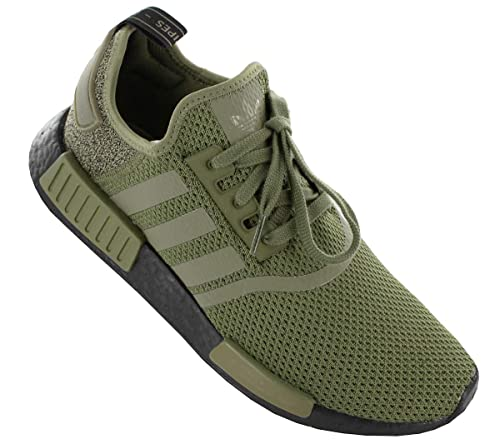 adidas NMD R1 AQ1246 Color: Green Olive Size: 8.0