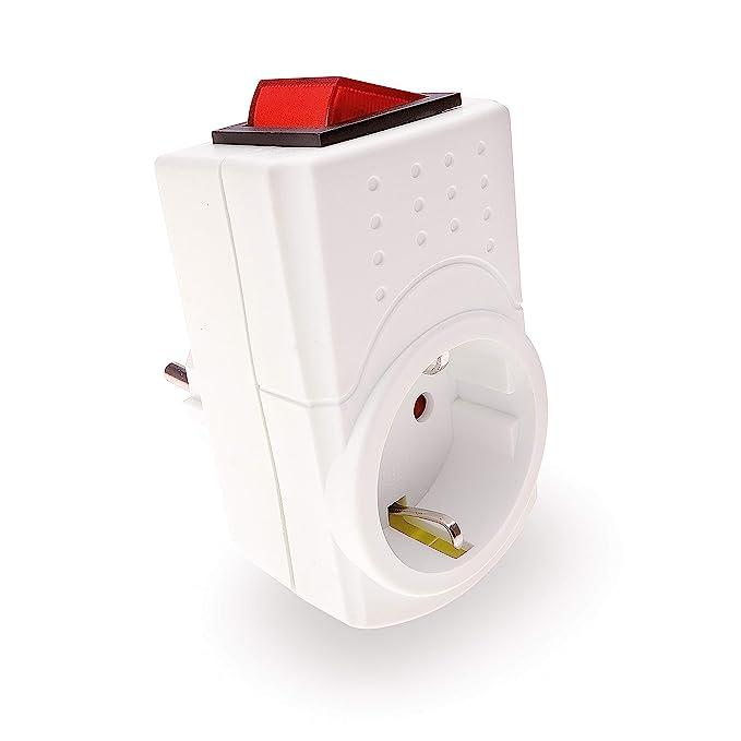 REV Ritter 0512085777 Schaltsteckdose, 230 V, Weiß