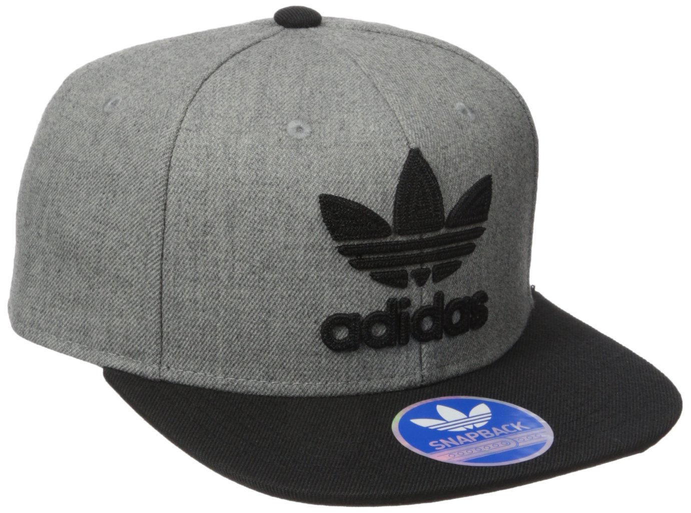 a8f54c06aaa Galleon - Adidas Men s Originals Snapback Flatbrim Cap