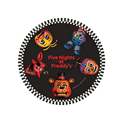 "BirthdayExpress Five Nights at Freddy's Party 7"" Dessert Plates Pack (16): Clothing"