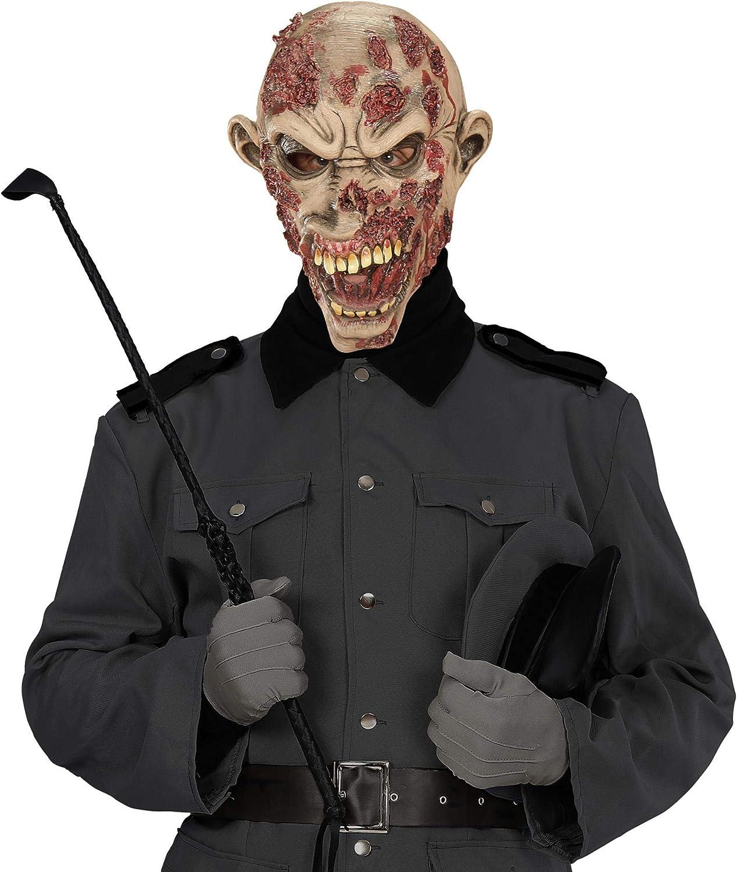 CUHAWUDBA Horror Copertura Cranio Rotten Zombie Diavolo di Sangue Zombie Maschera di Fusione Adulto Lattice Costume di Halloween Prop Spaventoso