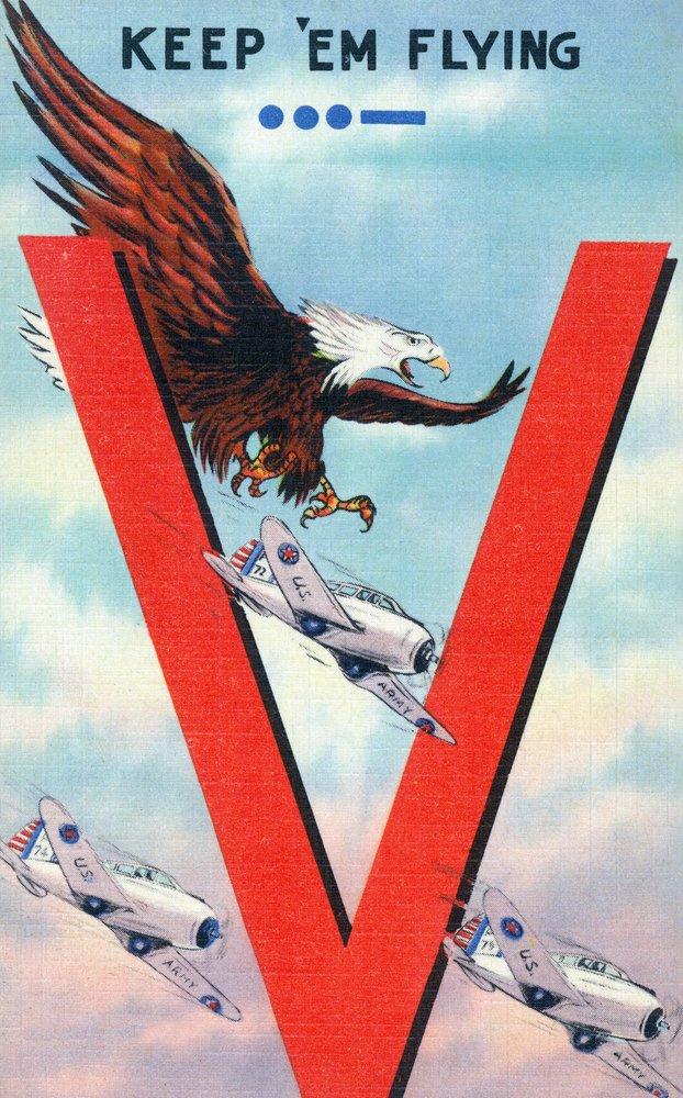 【現金特価】 WWIIプロモーション – – Keep ' Em Flying、Eagle Flying、Eagle Flying 24 With Planes Canvas Tote Bag LANT-35604-TT B00QPZ28ZY 24 x 36 Giclee Print 24 x 36 Giclee Print, ユウトウチョウ:cfbf8905 --- arianechie.dominiotemporario.com