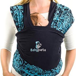 0e51ecdef14d Portez Le Bébé En Sécurité   Aisément - Écharpe De Portage Babypeta - Porte  Enfant En