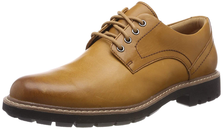 Brown (Tan Leather -) Clarks Men's Batcombe Hall Derbys