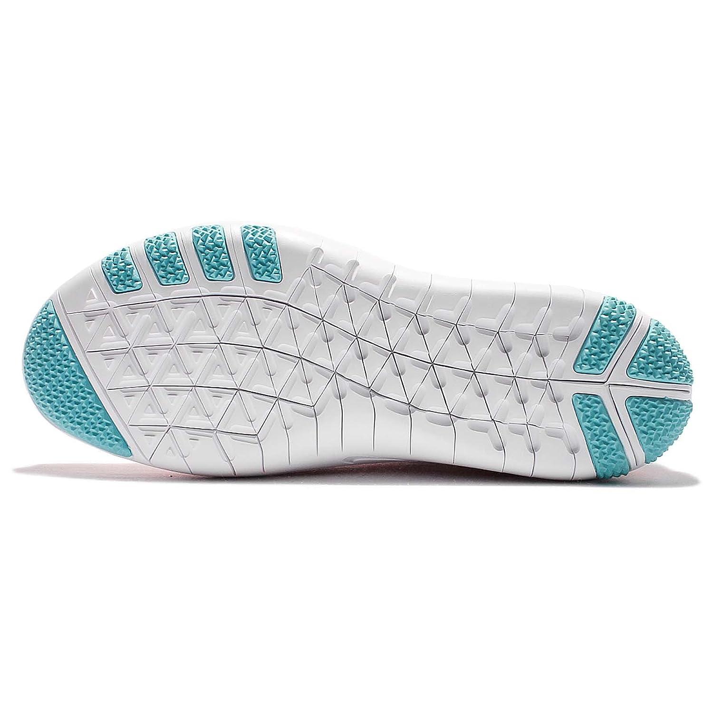 new product d2531 ea293 Nike Womens Free Transform Flyknit Bright Melon   Polarized Blue