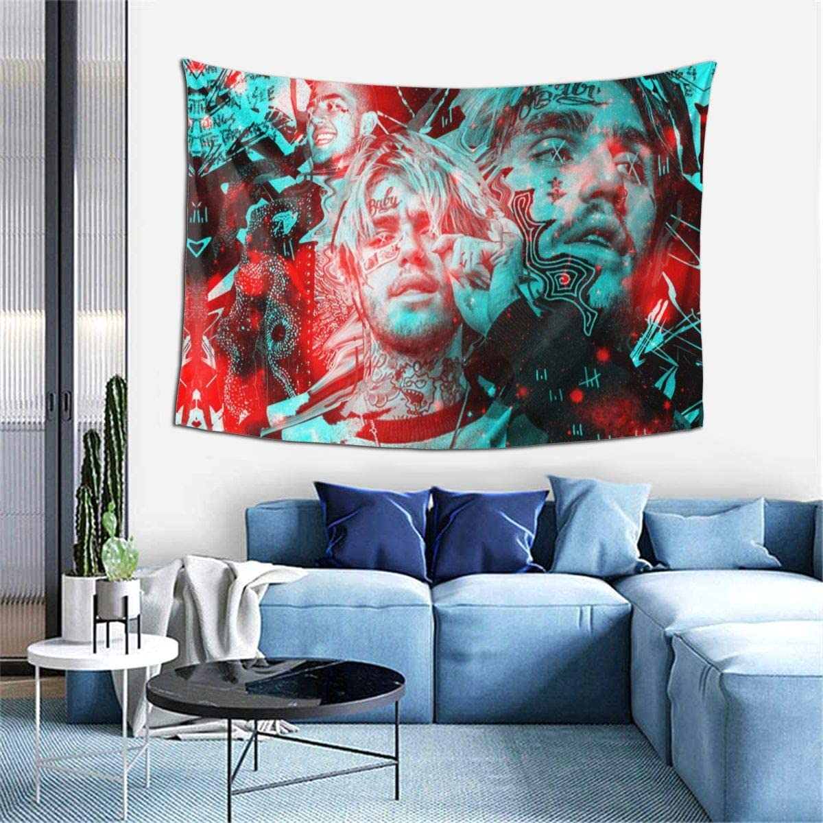 Antonia Bellamy rapper poster Tapestry Wall Hanging For Living Room Bedroom Dorm Room Home Decor 60 X 40in