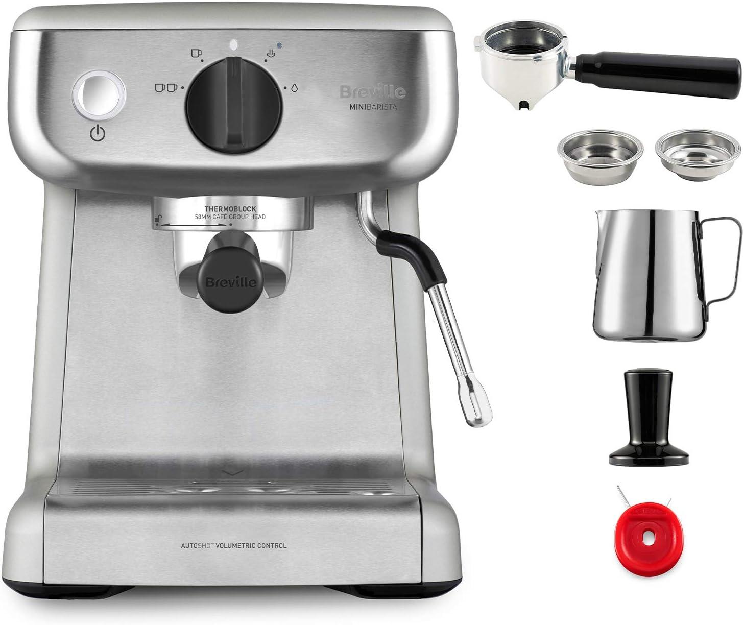 Breville Mini VCF125X - Barista máquina de café expreso ...