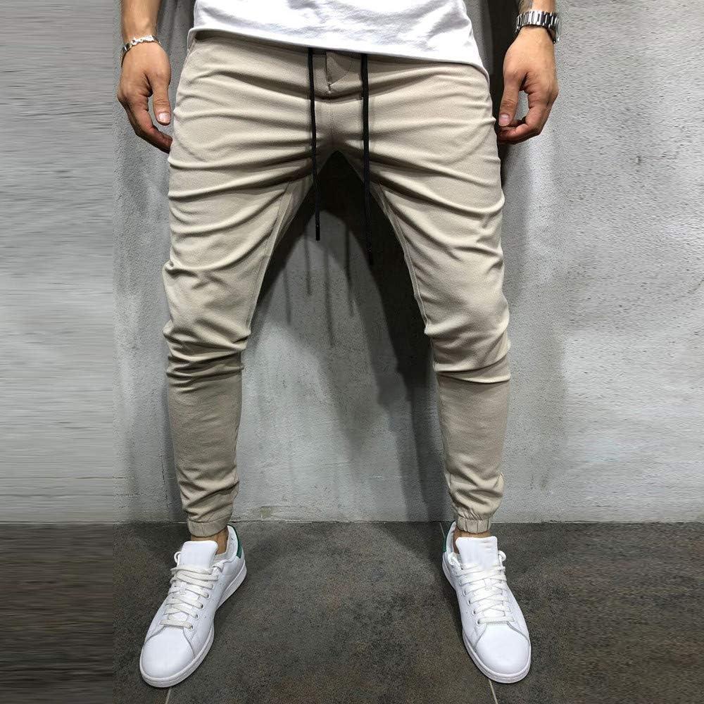 OHQ Hombre Casual Sportwear Baggy Jogger Pants Slacks Pantalones ...