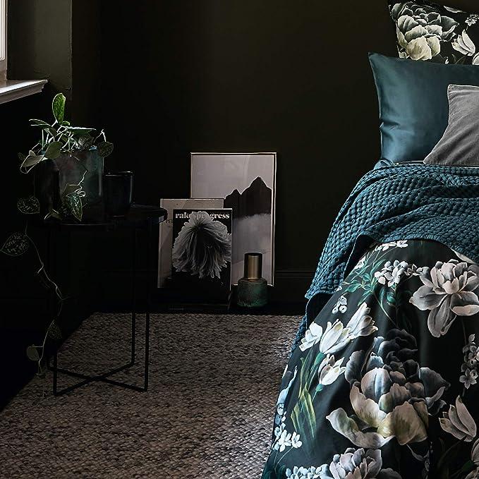 URBANARA L/äufer Teppich Ravi Eierschale//Grau 70 x 180 cm 70/% Schurwolle 30/% Viscose Wohnzimmer Teppich/ Handgewebter Wollteppich Mit Mellierung Und Moderner Grober Struktur