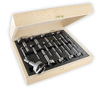 Relativ ENT 40316 Forstnerbohrer Premium-Ausführung Set 16-teilig UV34