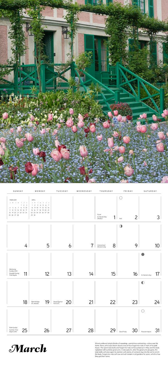 Amazon.com: Monet's Passion 2018 Wall Calendar: The Gardens at Giverny  (9780764977534): Elizabeth Murray, Claude Monet: Books
