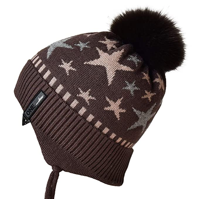 3780f6792b1 Image Unavailable. Image not available for. Color  ENJOYFUR Toddler Boy  Winter Hat for Christmas Day
