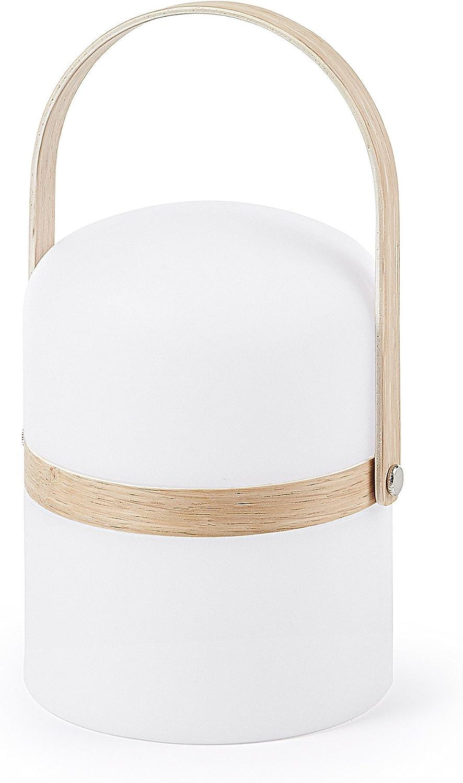 Kave Home - Lámpara de sobremesa Ridley con luz regulable: Amazon ...
