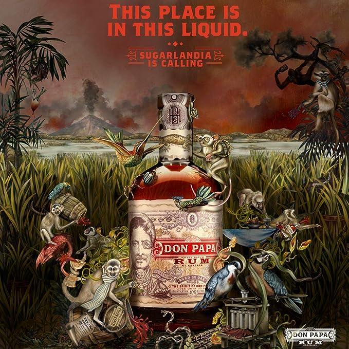 Don Papa Rum - Ron, 40% alc/vol, 70 cl: Amazon.es ...