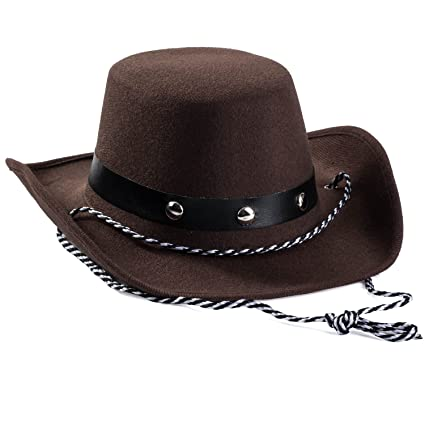 Amazon.com  Baby Cowboy Hat - Cowboy Hat Toddler – Studded Cowboy ... b9683421c90